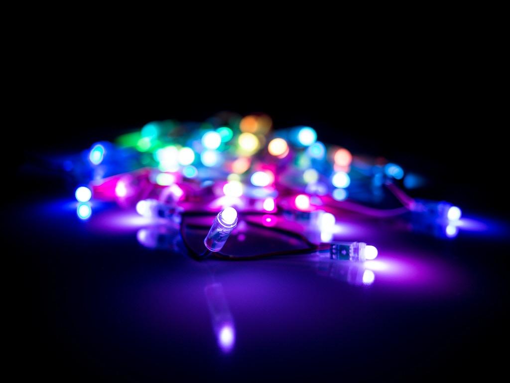String Lights Music : HypnoLights, Full Color Animated String Lights! by Hypnocube Kickstarter