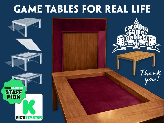 Carolina Game Tables By Jodi And Clint Black Kickstarter