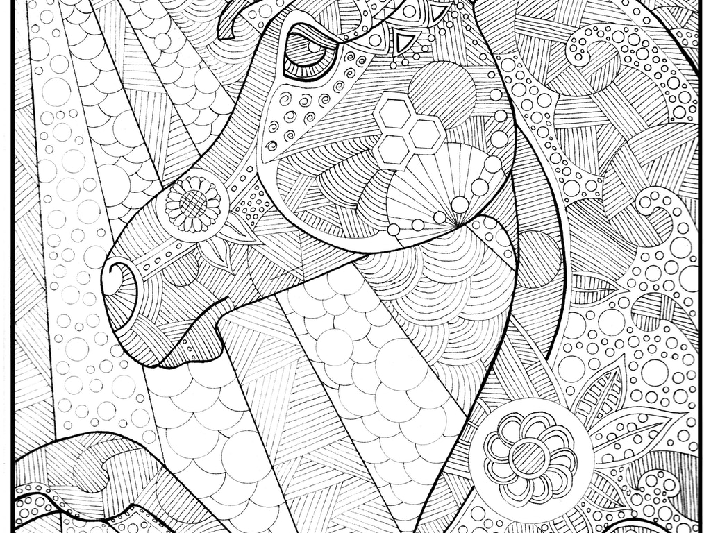 This Project Is A Weekly Coloring Page Subscription