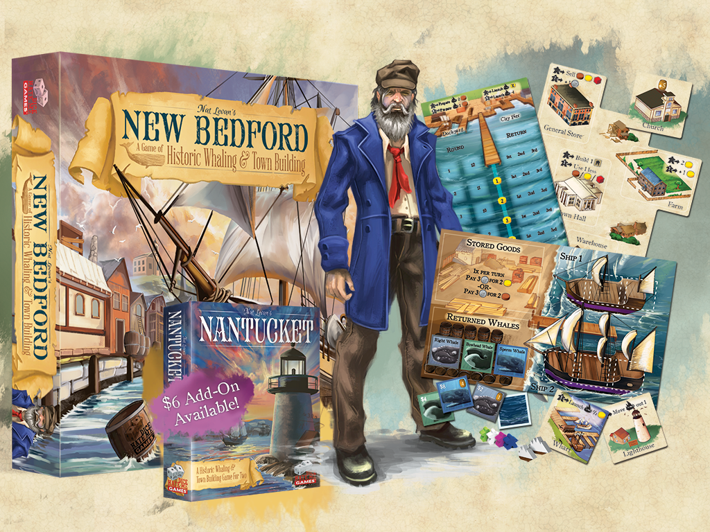 New Bedford: The Game of Historic Whaling & Town Building miniatura de video del proyecto