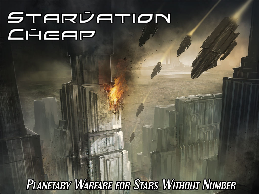A sandbox military campaign supplement for the free Stars Without Number sci-fi RPG.