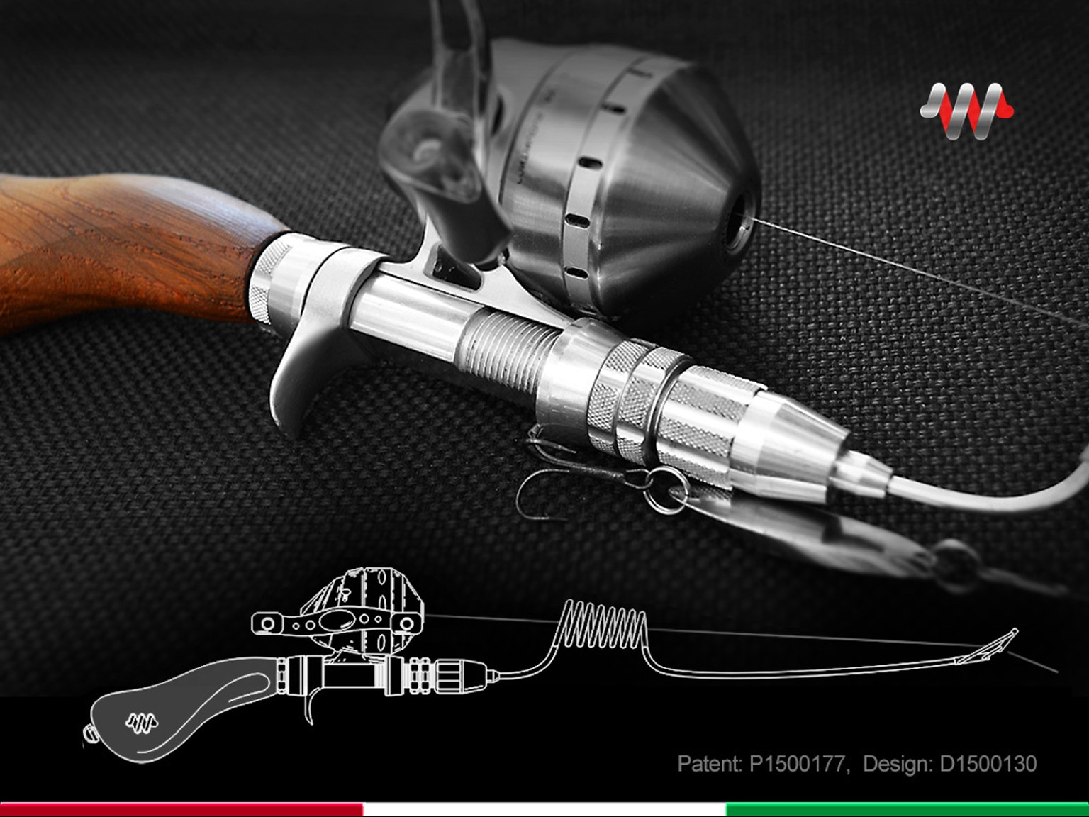 Compact fishing systems by kickstarter for Compact fishing pole