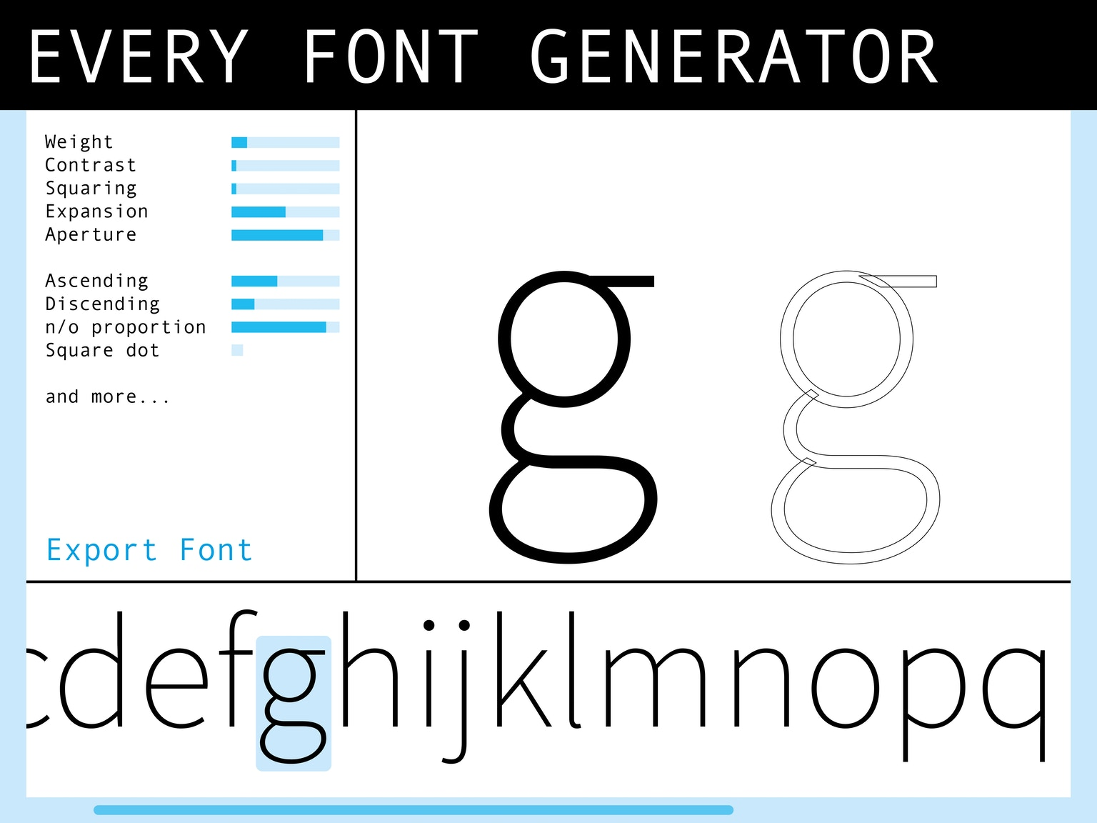 Calendar Typography Generator : Every font generator for improved graphic design