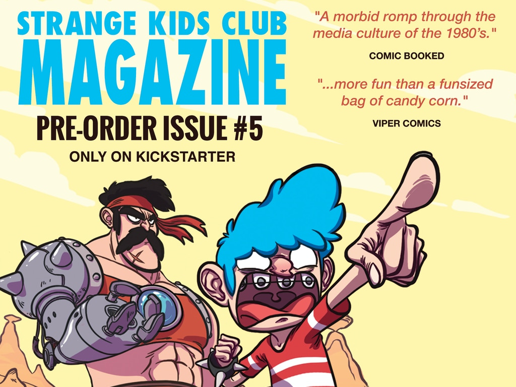 """Don't miss the fifth fantastic issue of our comics and humor magazine featuring 60+ pages of """"stoopid good"""" entertainment!"""