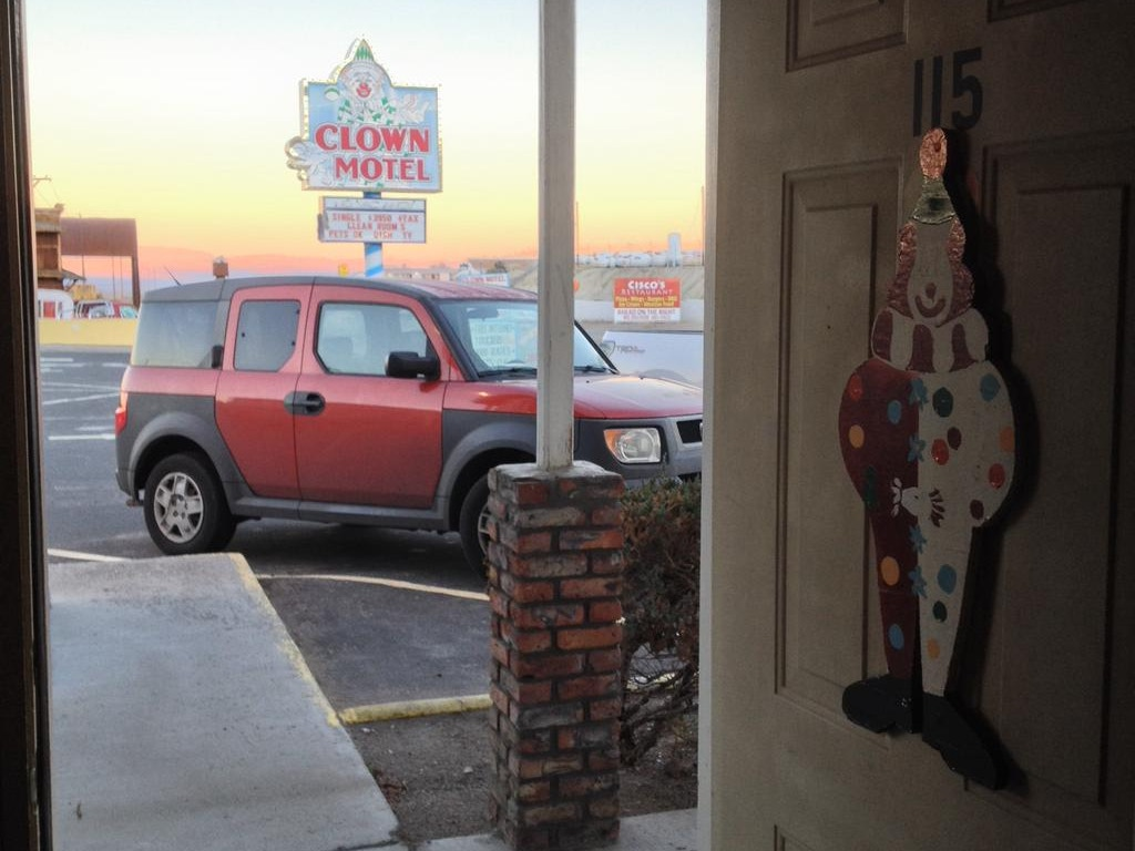 I Live in a Clown Motel: A Journey Into the Heart of America