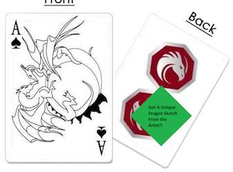 Dragon Art Playing Cards