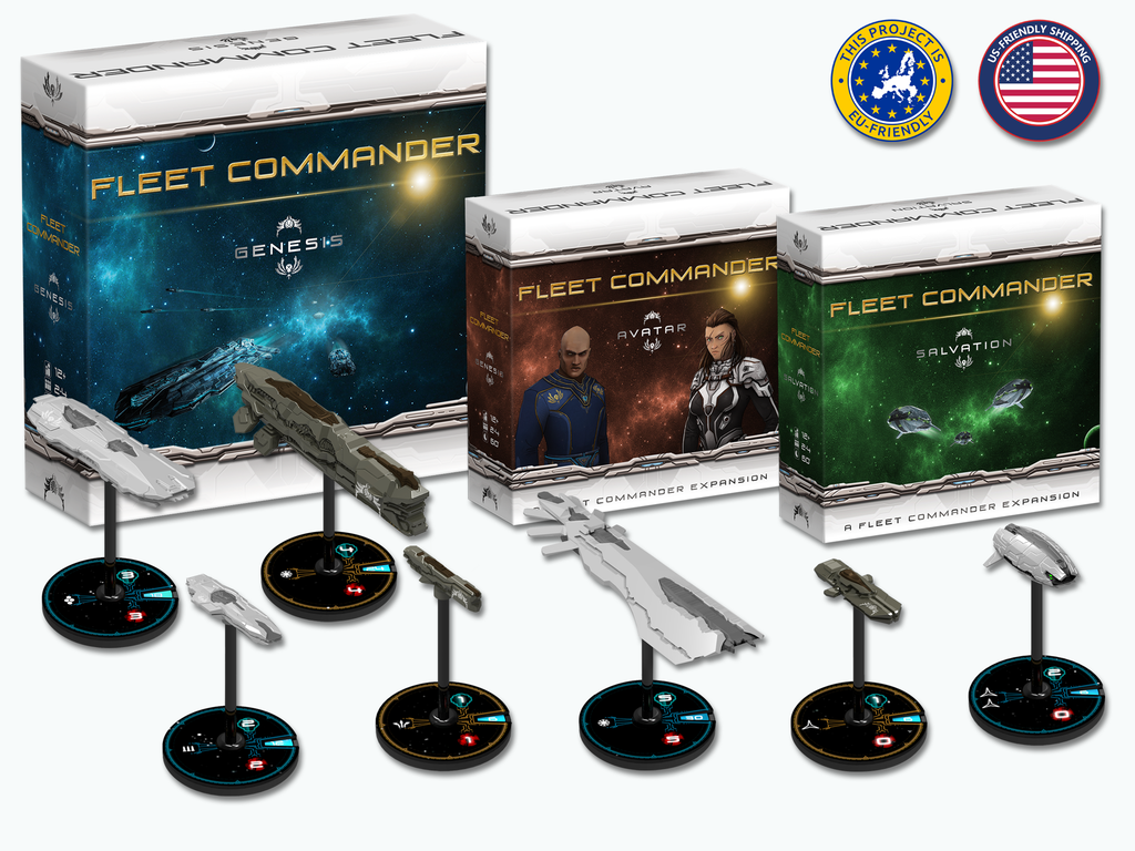 Miniature de la vidéo du projet Fleet Commander - Genesis