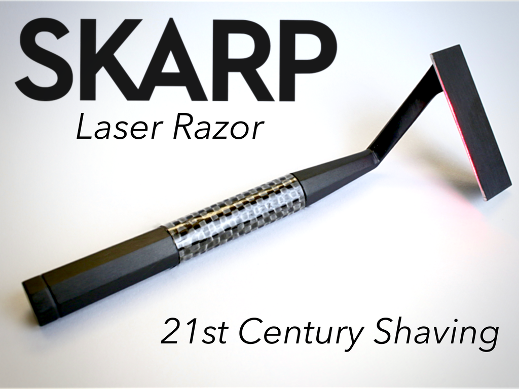 The Skarp Laser Razor: 21st Century Shaving (Suspended) project video thumbnail