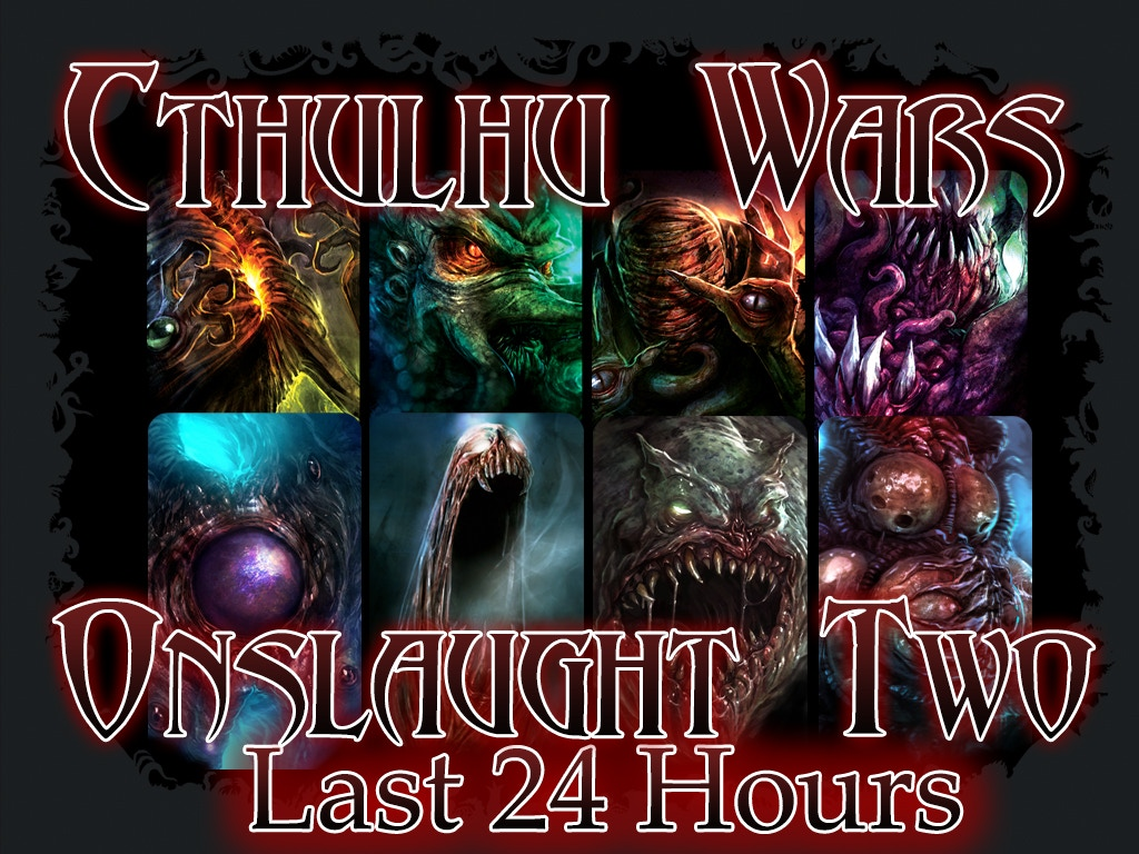 Cthulhu Wars : Onslaught Two miniatura de video del proyecto