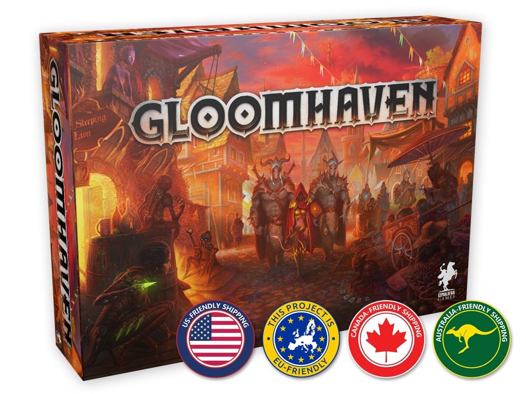 Gloomhaven miniatura de video del proyecto