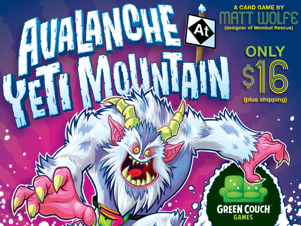 Avalanche at Yeti Mountain from Green Couch Games! miniatura de video del proyecto