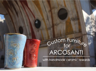 Handmade Ceramics and Custom Furniture at Arcosanti