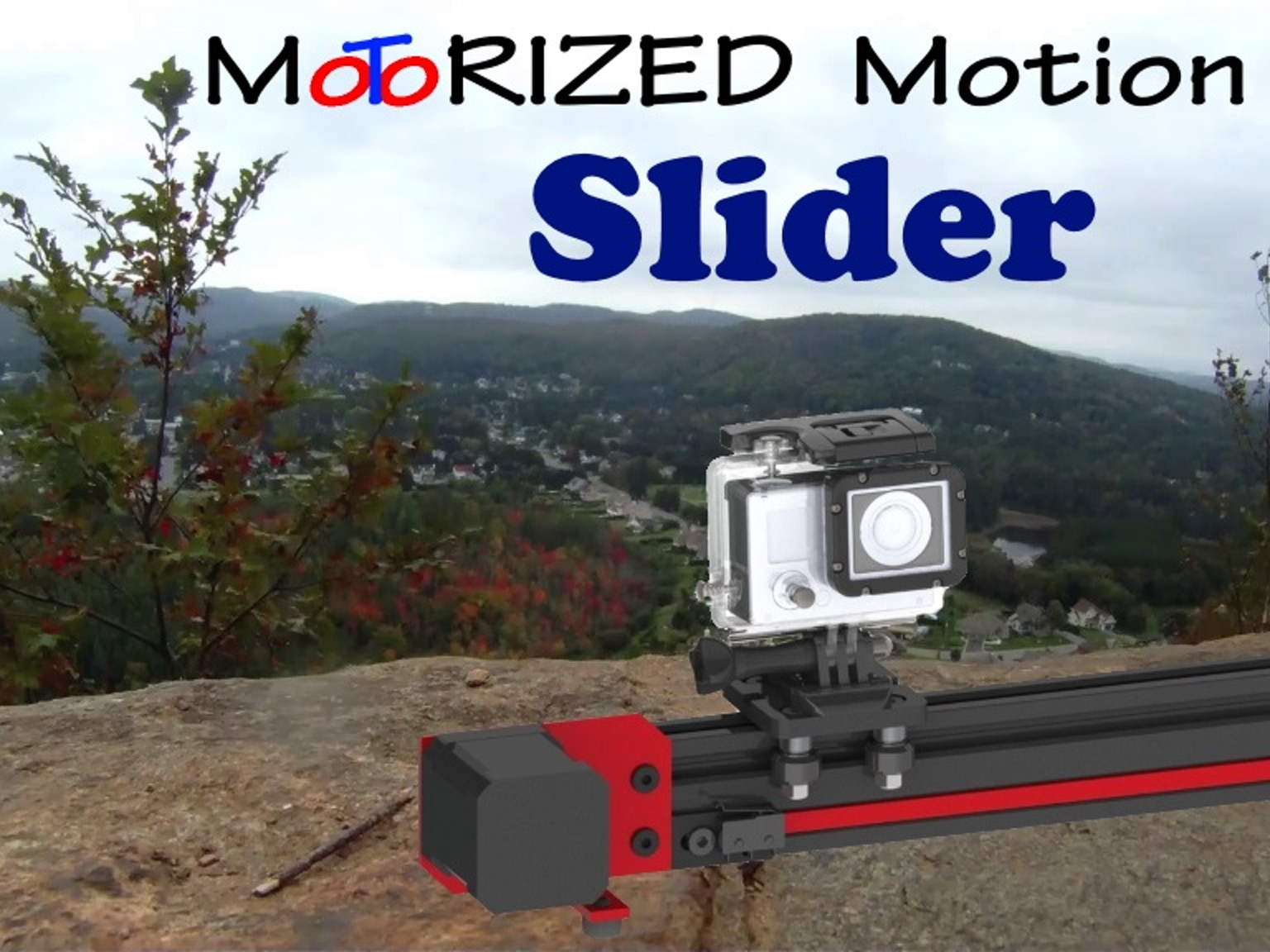 Fast Camera Slider Variable Speed Time Lapse For Gopro