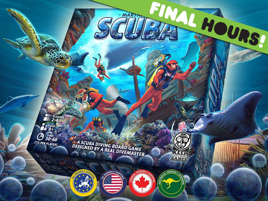Scuba - The Board Game miniatura de video del proyecto