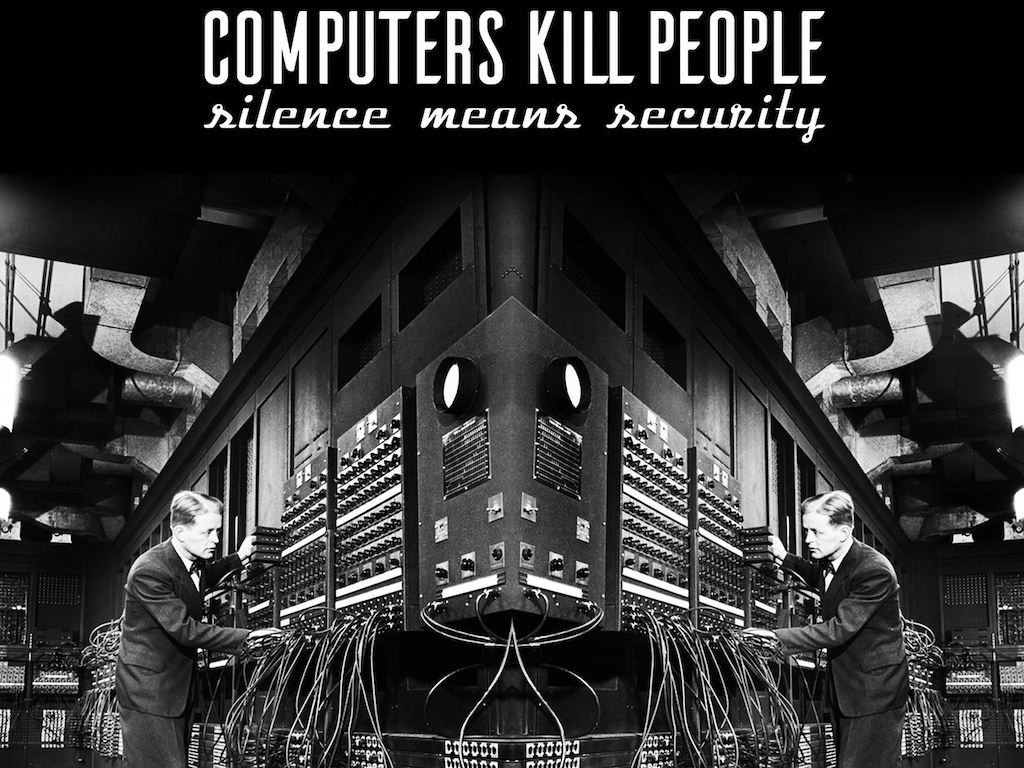 CONCOURS CD : COMPUTERS KILL PEOPLE