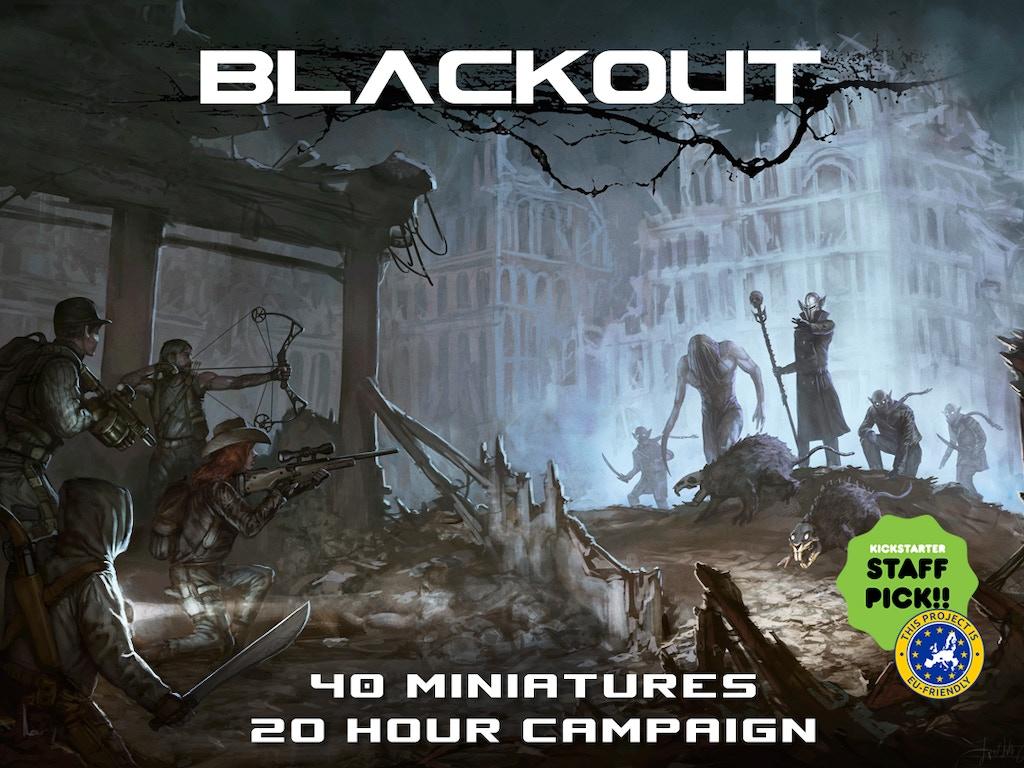 Blackout: Journey into Darkness miniatura de video del proyecto
