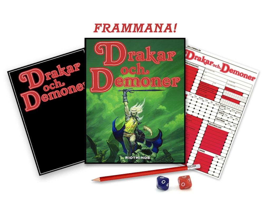 Nu är det dags! Med er hjälp kommer vi att göra en nyutgåva av Drakar och Demoner (den version som kallas den tredje versionen, 87:an).
