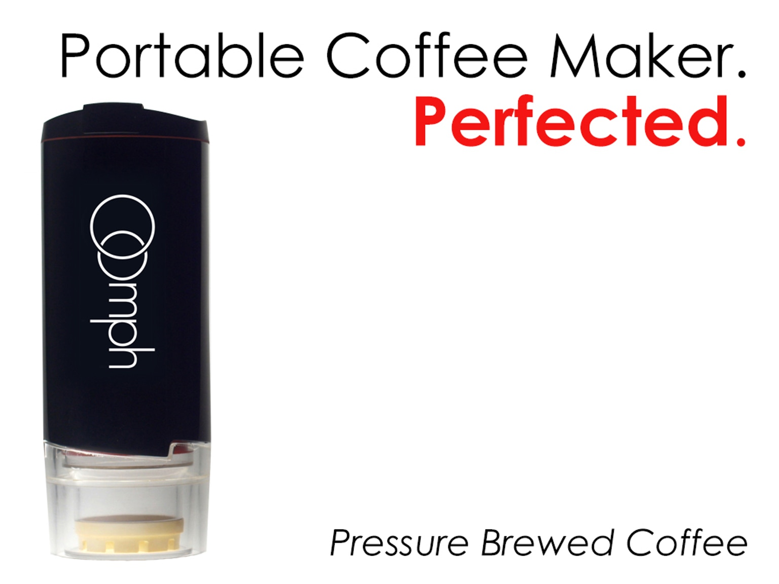 The Oomph Hand Powered Portable Coffee Maker by Oomph Coffee Kickstarter
