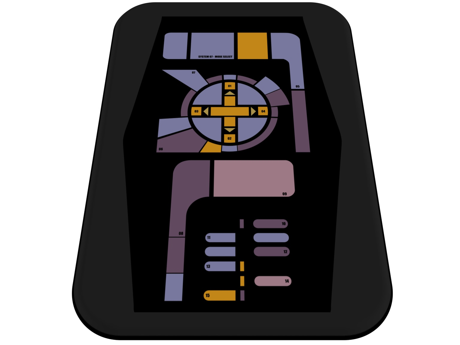 Trek inspired captain 39 s chair universal remote by david for Boden direct code