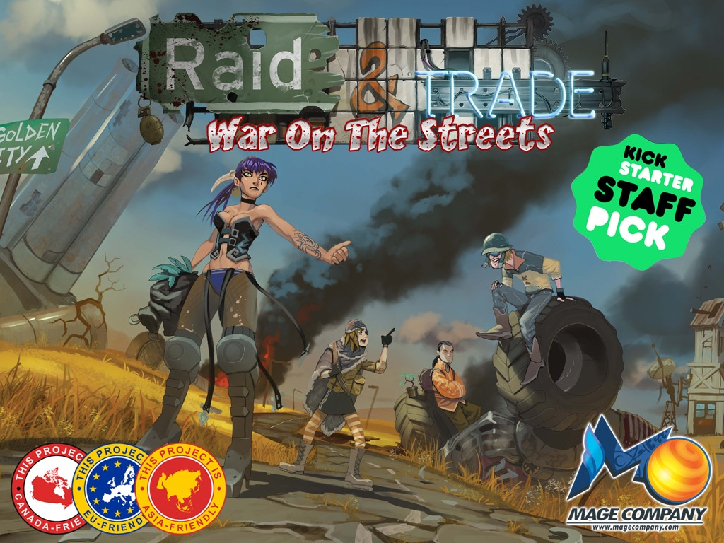 Raid & Trade: War on the Streets miniatura de video del proyecto