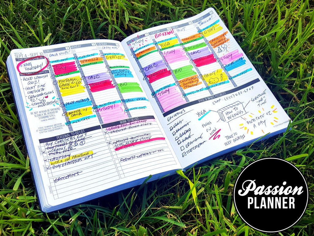 Kickstarter Calendar Planner : Passion planner get one give project video thumbnail