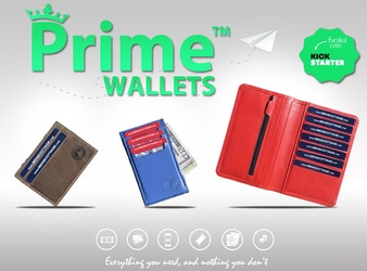 PRIME™ Wallets - Slim, Practical & Classy Travel Wallets