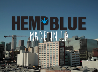 Hemp Blue - Don't Just Wear Something, Say Something