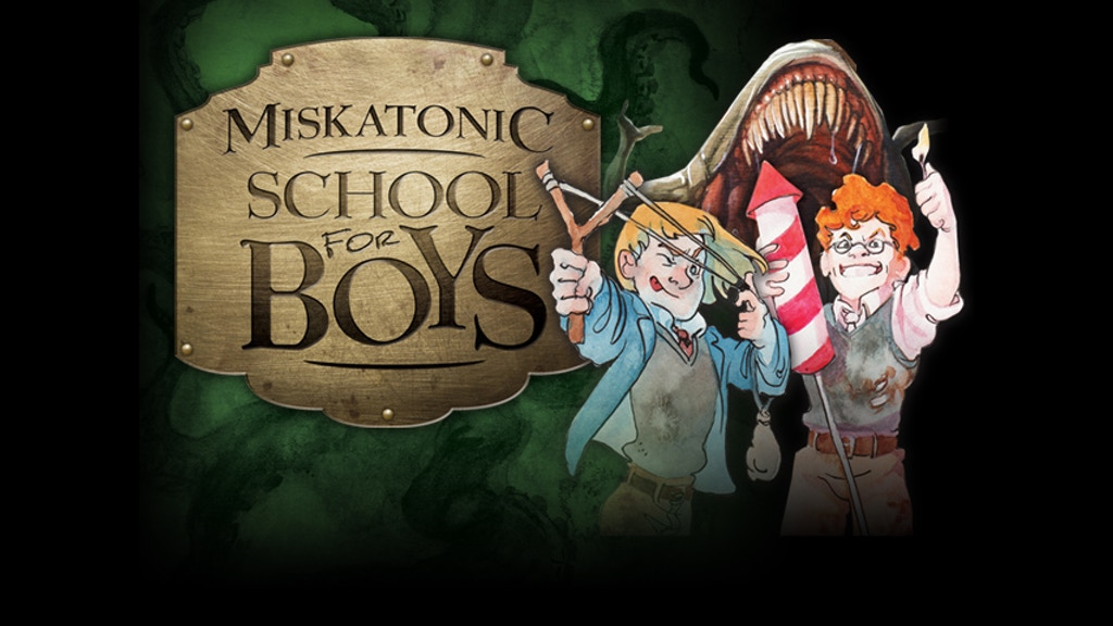 Miskatonic School for Boys. The Reverse Deduction Game. miniatura de video del proyecto