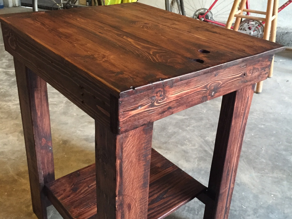 I am creating Rustic furniture created from recycled. reclaimed wood found throughout Ventura & Los Angeles County.