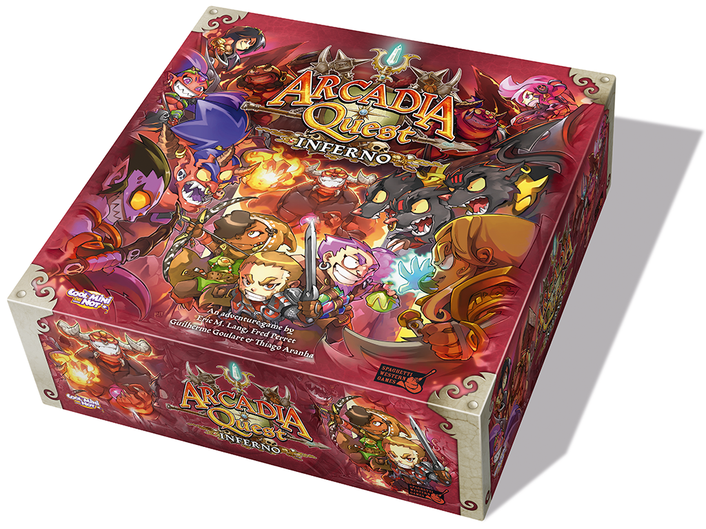 Arcadia Quest: Inferno miniatura de video del proyecto