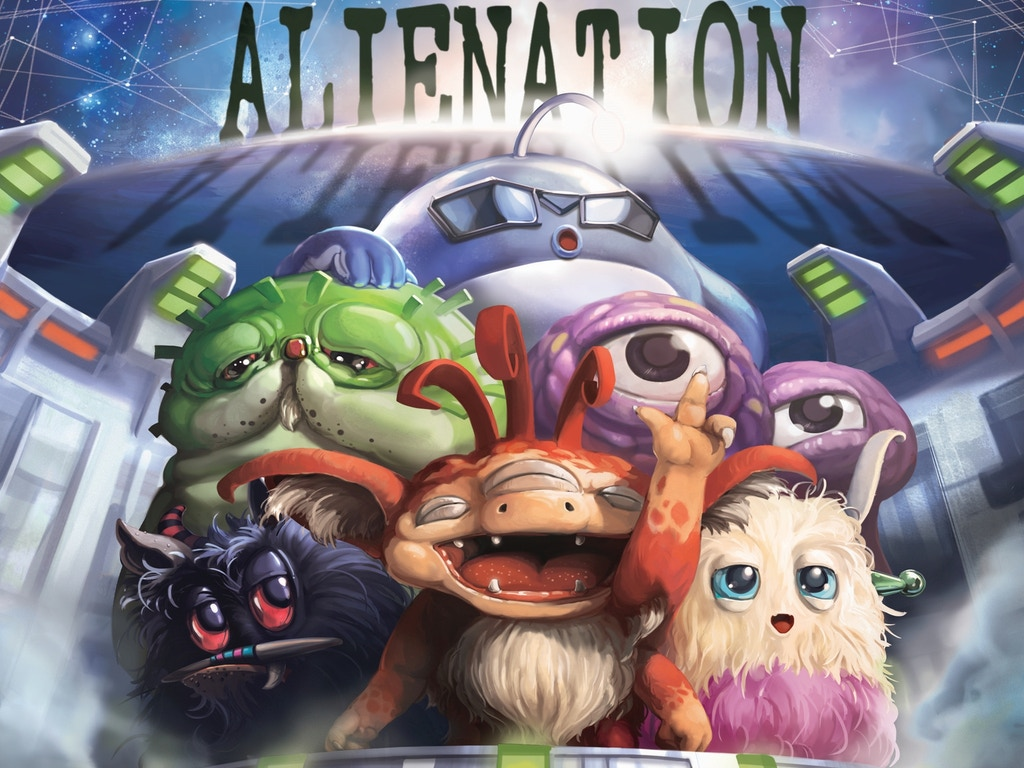 Alienation - an intergalactic card drafting game miniatura de video del proyecto