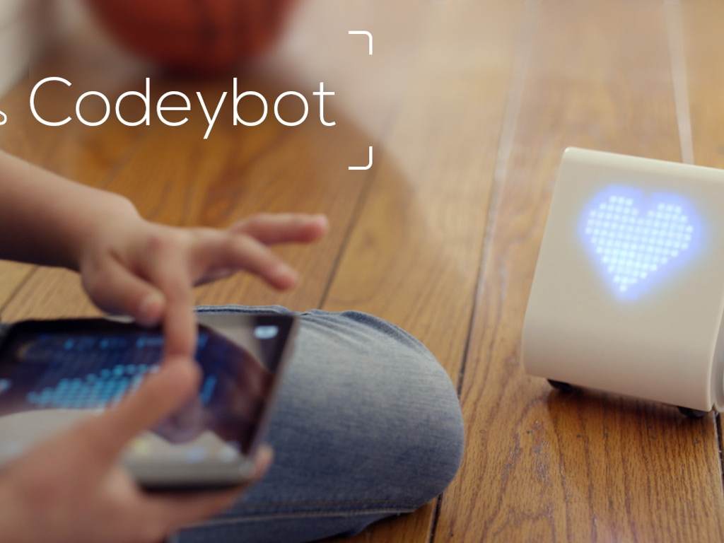 Codeybot: New Robot Who Teaches Coding