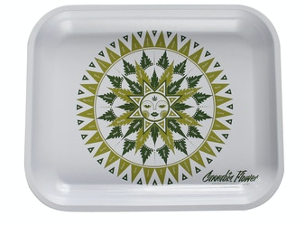 Cannabis Flower Olfactory Chart Serving Tray