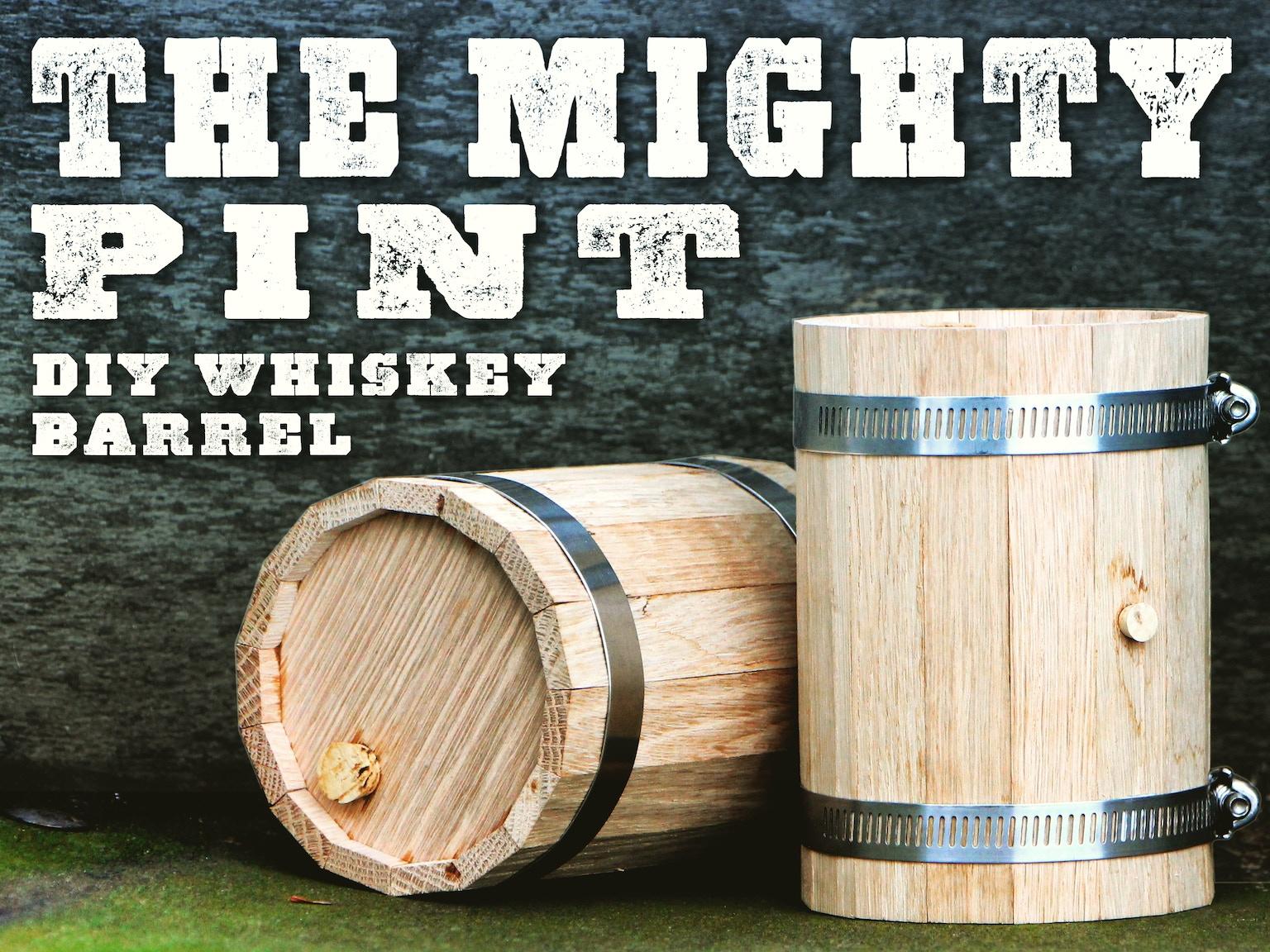 Diy mini whiskey barrel by kyle brown kickstarter for Diy whiskey barrel bar