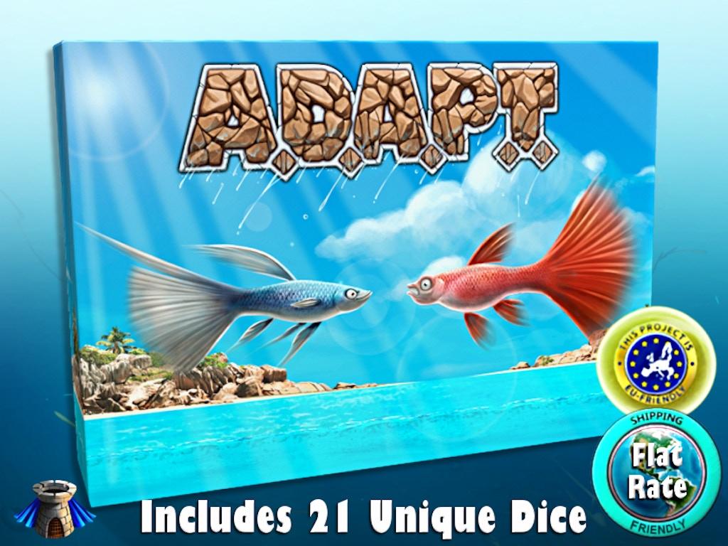 ADAPT - The Card & Dice Game miniatura de video del proyecto