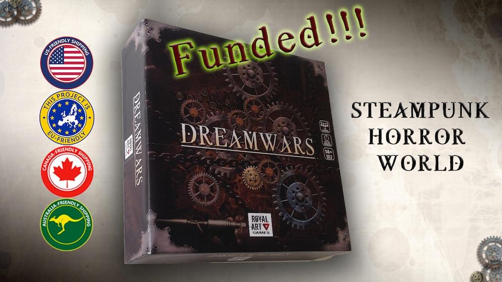 Dreamwars - Steampunk Horror Board Game miniatura de video del proyecto