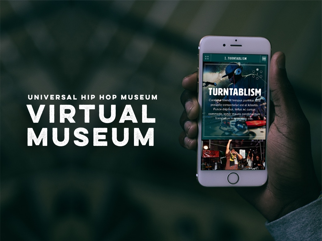 Universal Hip Hop Virtual Museum project video thumbnail