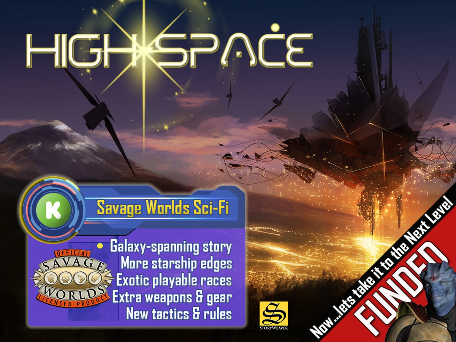 High space the sci fi tabletop rpg for savage worlds by for Bureau 13 savage worlds