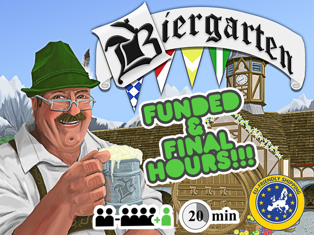Biergarten: A Light Card-Laying Game of Bavarian Traditions miniatura de video del proyecto