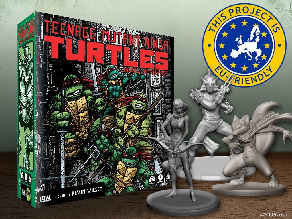 Teenage Mutant Ninja Turtles: Shadows of the Past Board Game miniatura de video del proyecto