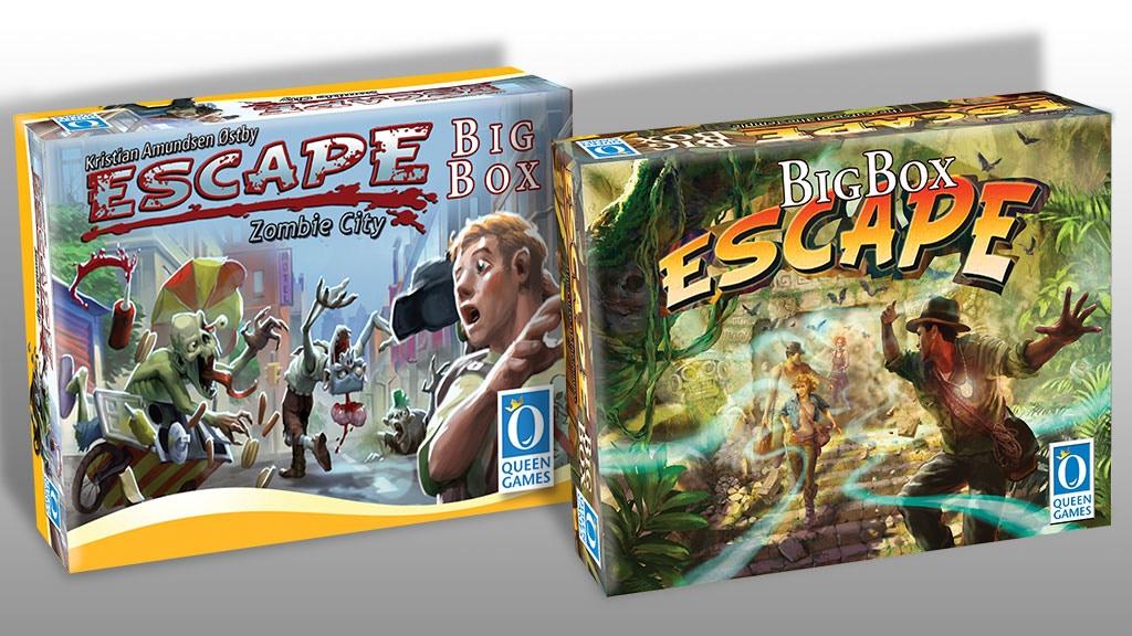 Escape Zombie City Big Box & Escape Big Box (2nd Ed) miniatura de video del proyecto