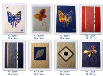 Sustainable Handmade Cards Benefiting Aids Orphans