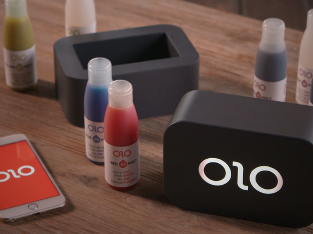 OLO - The First Ever Smartphone 3D Printer.