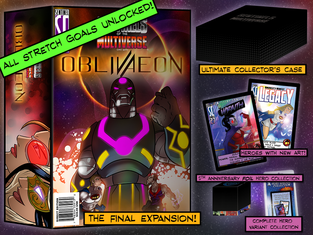 Sentinels of the Multiverse: OblivAeon miniatura de video del proyecto