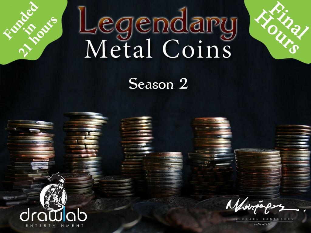 legendary metal coins 2 Photo-original