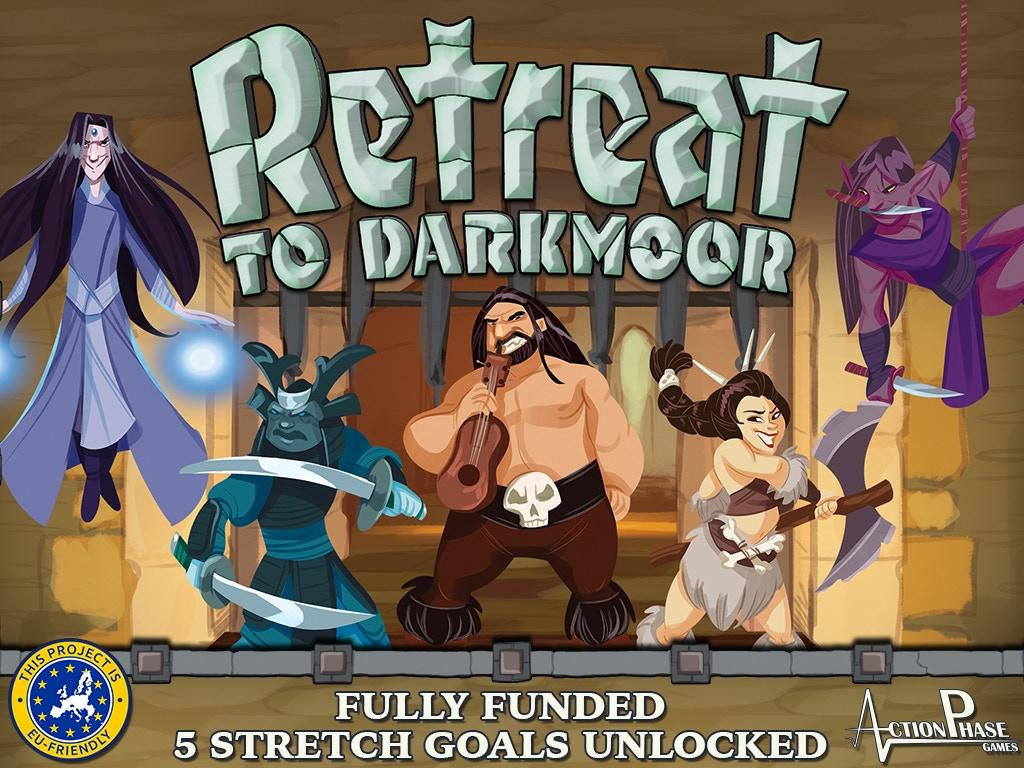 Retreat to Darkmoor! miniatura de video del proyecto