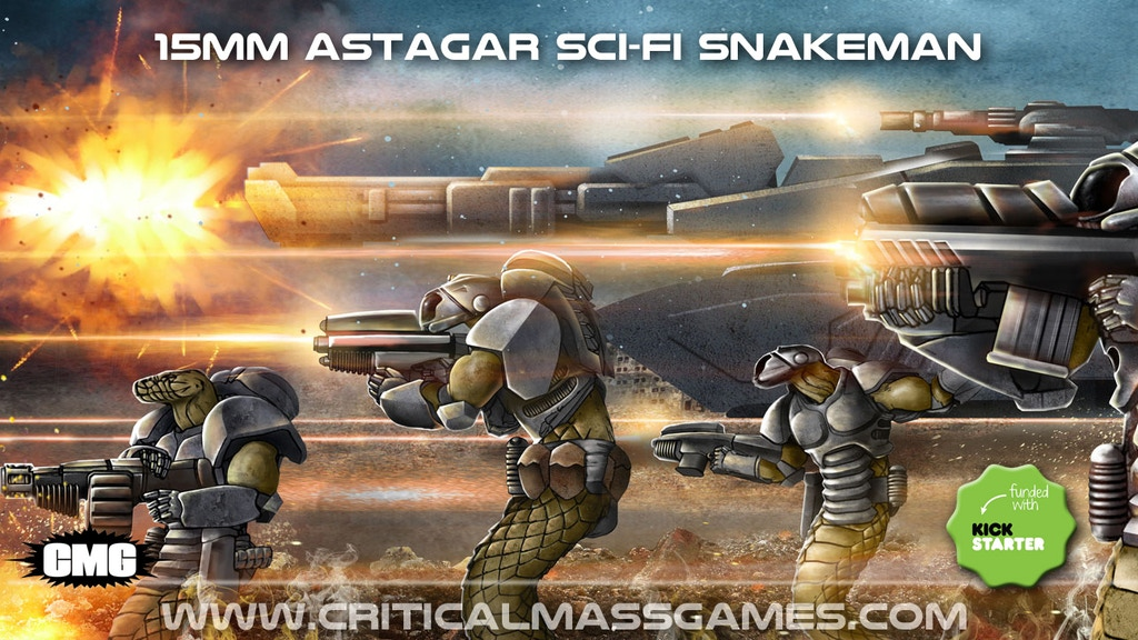 Astagar 15mm Sci-fi Snakemen project video thumbnail