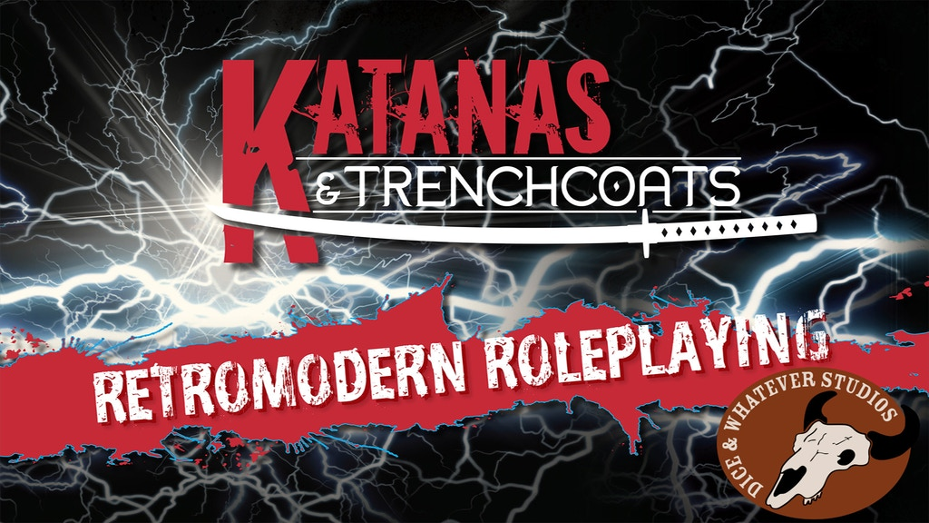 Katanas & Trenchcoats: Retromodern Roleplaying project video thumbnail