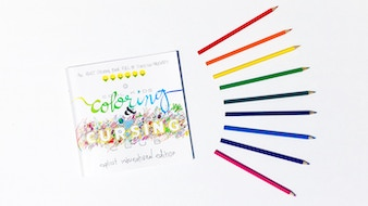 international CURSING & COLORING book