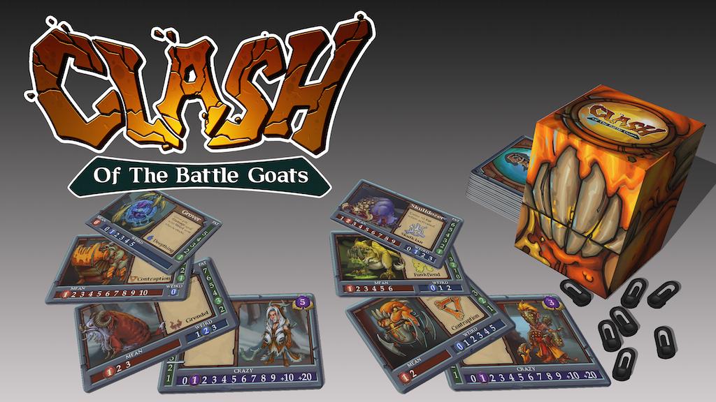 Clash of the Battle Goats miniatura de video del proyecto